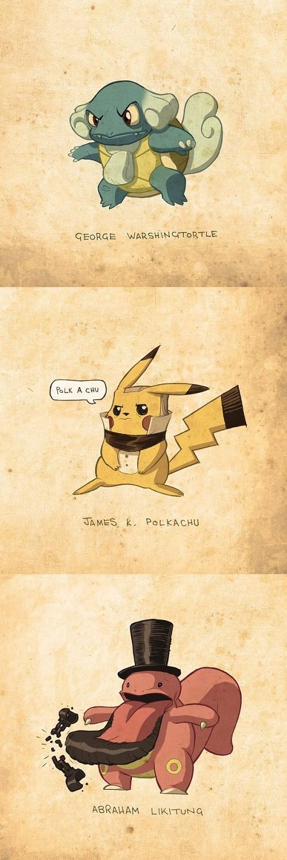 Pokemon as Presidents