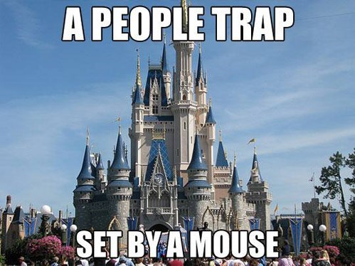 The Irony of Disneyland