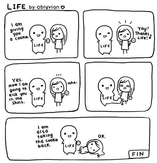 life,rewards,sad but true,cookies,funny,web comics