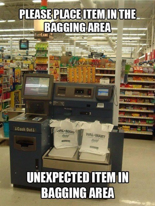Scumbag Self Checkout