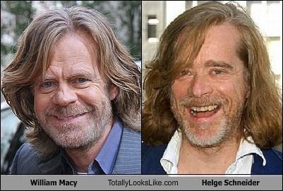 William Macy Totally Looks Like Helge Schneider