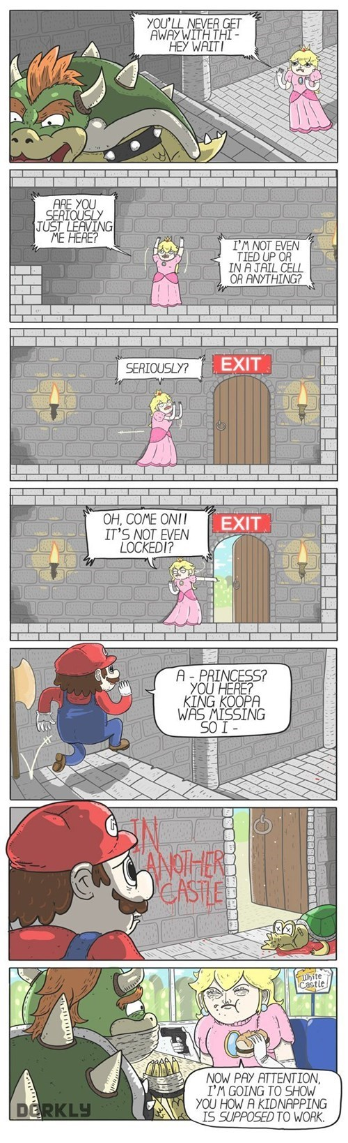 Princess Peach Has Had Enough