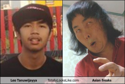 Leo Tanuwijayya Totally Looks Like Asian freaks