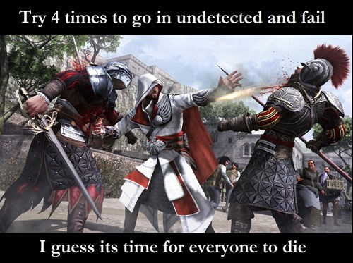 Everytime You Play Assassin's Creed