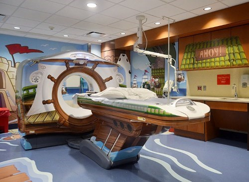 This Children's Hospital Went the Extra Mile to Make an MRI Less Scary