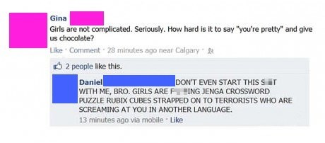 Girls Can Be Complicated