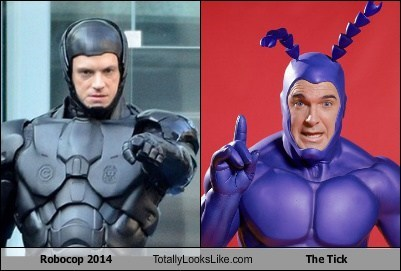 Robocop 2014 Totally Looks Like The Tick