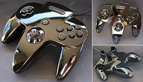 This Custom Nintendo 64 Controller is Perfect for Metal Mario
