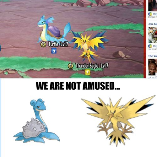 lapras,monster legends,zapdos,seems legit
