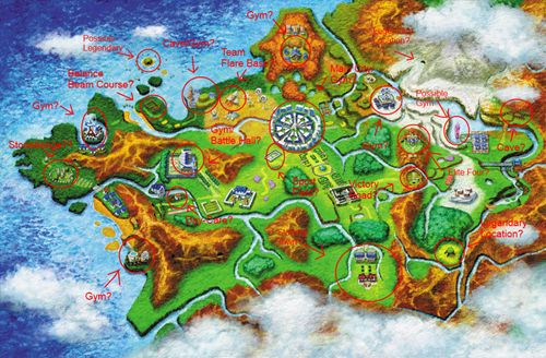 Kalos Map Speculation