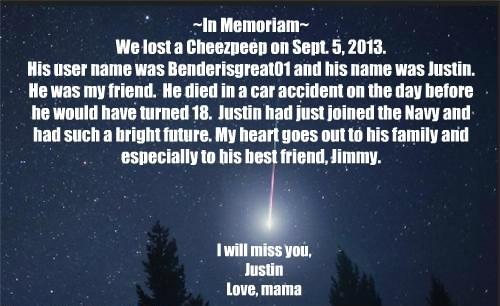 RIP Justin.
