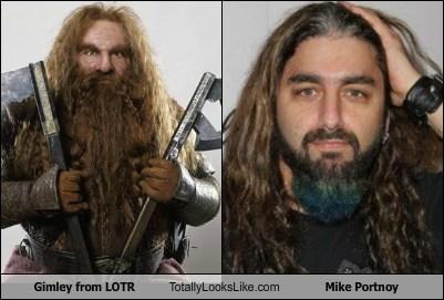 Gimli From LOTR Totally Looks Like Mike Portnoy