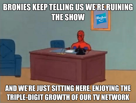 Hasbro Doesn't Care What You Think
