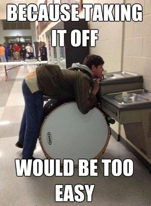 school,drum,booty,funny,band,g rated,School of FAIL