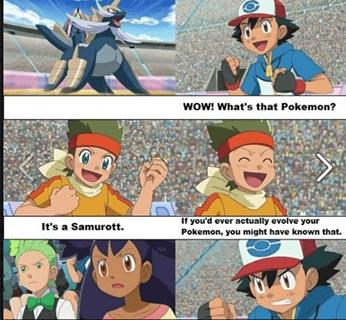 Everyone Makes Fun of Ash