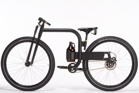 The Bike That Carries Growlers of Beer