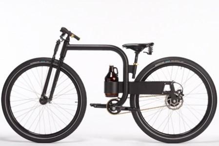 The Bike That Carries Growlers of Beer