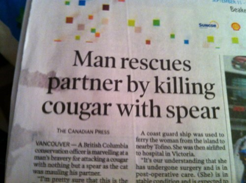 Only in Canada, Folks!
