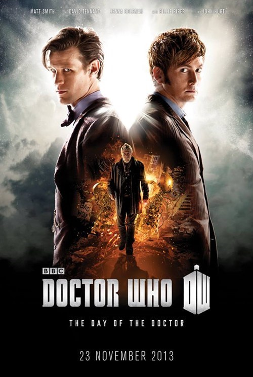 "Check Out This Poster for the 50th Anniversary Episode, ""The Day of the Doctor"""