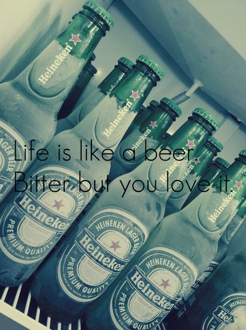 But Life Without Beer Isn't Sweet at All