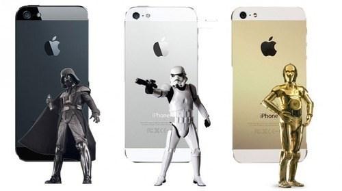 C3PO,star wars,stormtrooper,darth vader,iphone