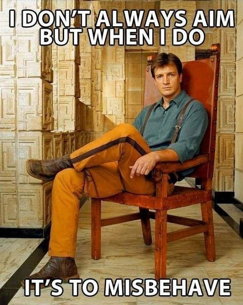 Malcolm Reynolds,i aim to misbehave,Firefly,most interesting man