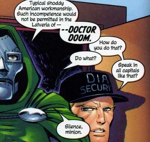 Doom Speaks With Gravitas