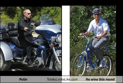 Putin Totally Looks Like He wins this round