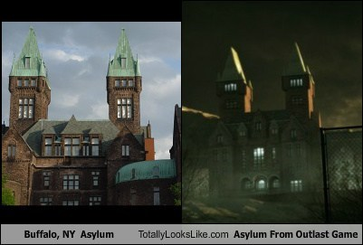 asylums,totally looks like,building,funny,outlast