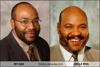 My Dad Totally Looks Like Uncle Phil