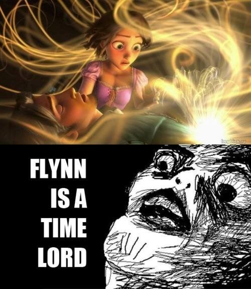 crossover,tangled,doctor who,raisin face