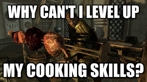 cooking,Skyrim