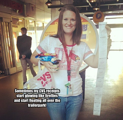 CVS receipts perform magic