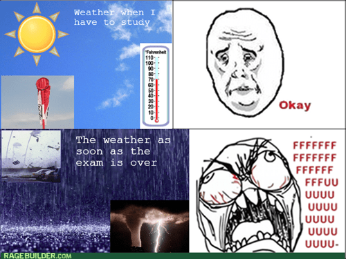 Weather RAGE!