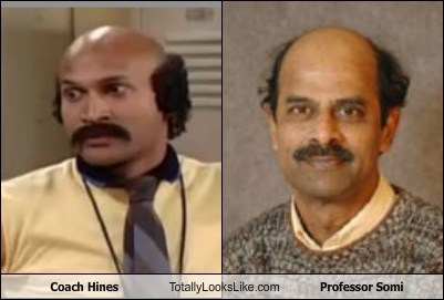 coach hines,totally looks like,professor somi,funny