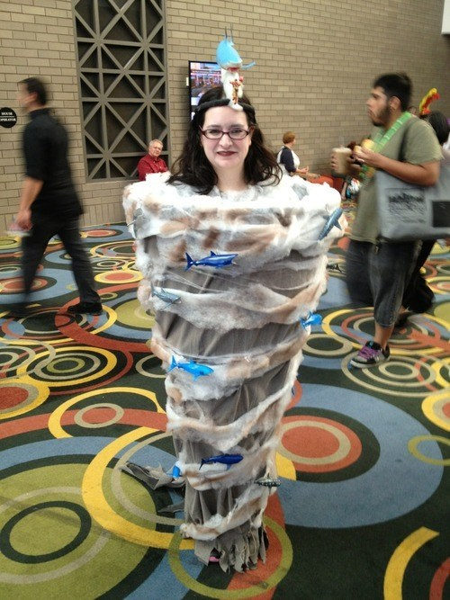 Put Down Your Crafting Supplies, Someone Has Cosplayed As Sharknado Already!