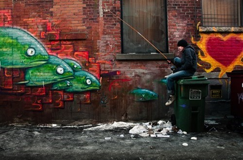 Playing With the Street Art