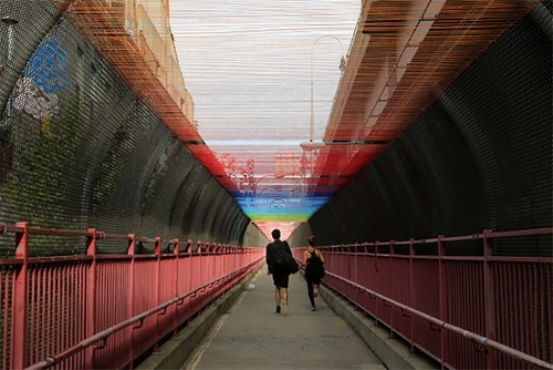 Take a Walk Under Minneapolis's Rainbow Bridge