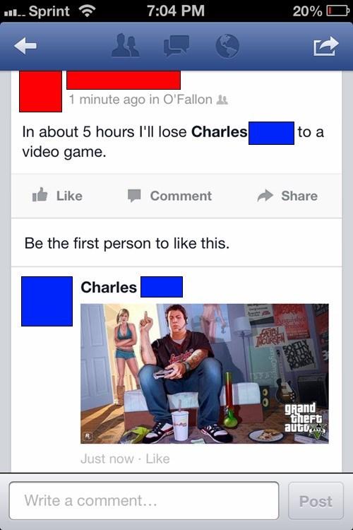 boyfriend,GTAV,facebook,funny,dating