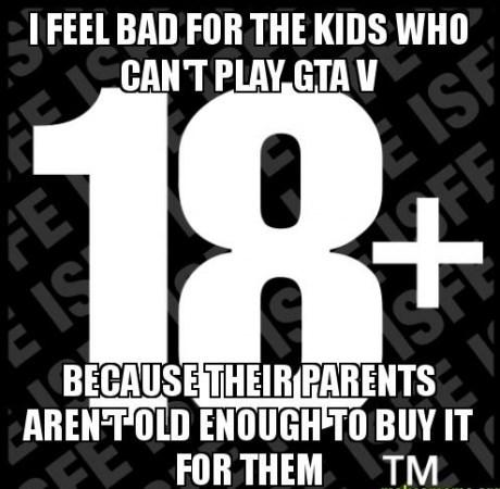 kids,grand theft auto v,parenting,burn