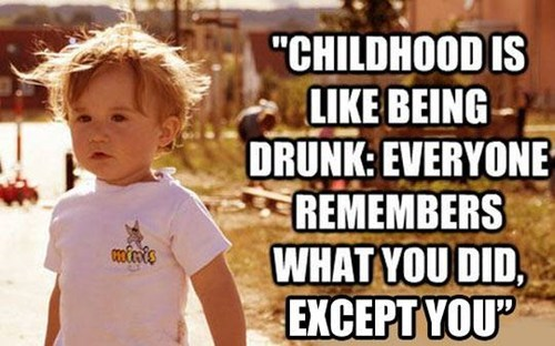 drinking,childhood,memories