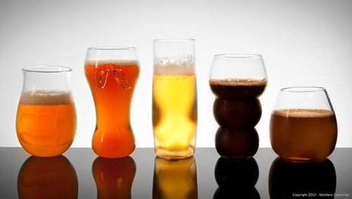 Some Wonderful Pretentious Beer Glasses