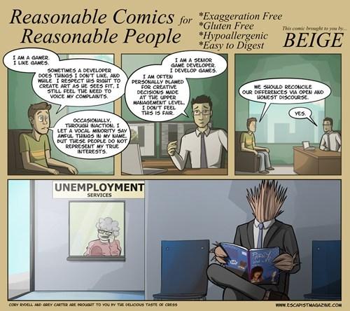 escapist,web comics