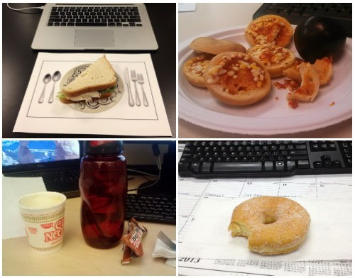 Single Topic Blog of The Day: Sad Desk Lunch