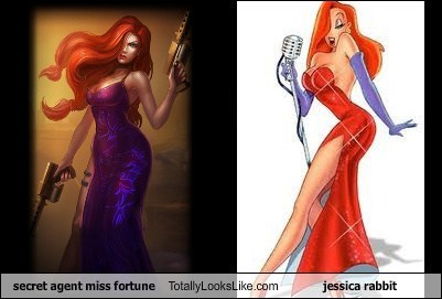 jessica rabbit,miss fortune,totally looks like,funny