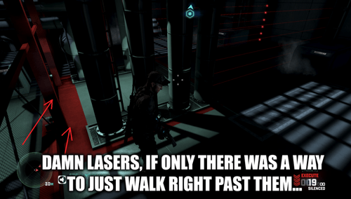Splinter Cell,video game logic