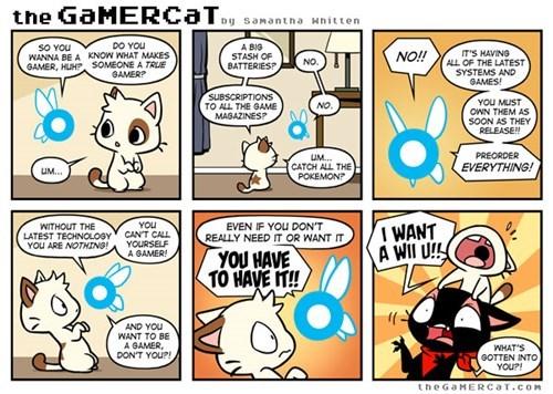 comics,gamers,the gamercat,web comics