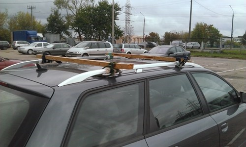 DIY Roof Bars
