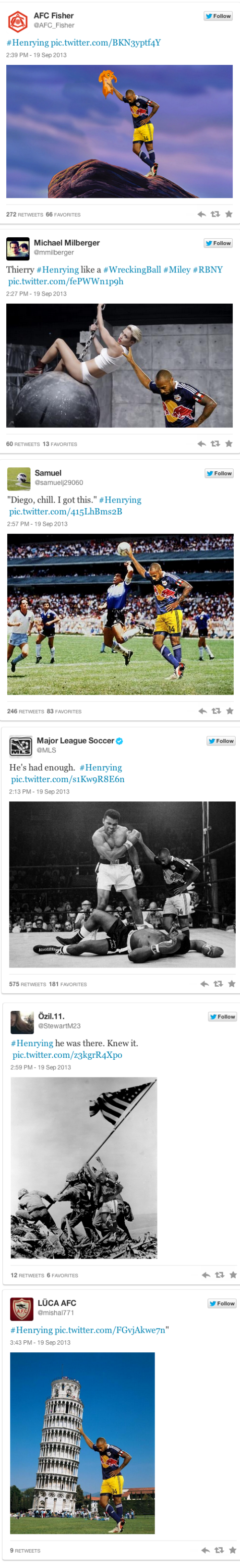 The Recipe For #Henrying, The Other-Football's a Newest Photo Fad
