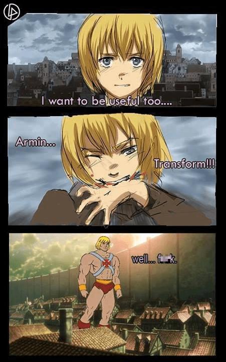 anime,he man,attack on titan
